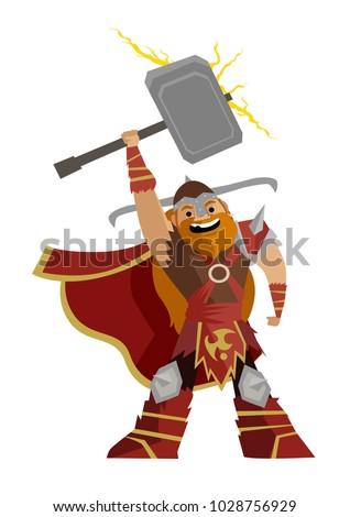 norse mythology thor god of