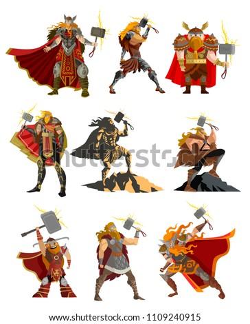 norse mythology thor gods