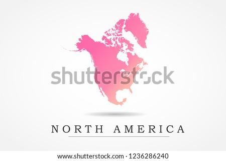 North America Map Vector Download Free Vector Art Stock Graphics