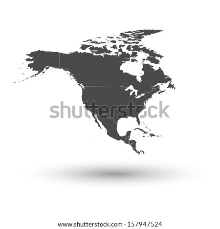 north america map background...