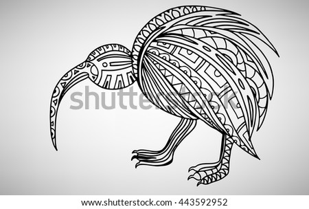 Kiwi Bird Vector Download Free Vector Art Stock Graphics Images