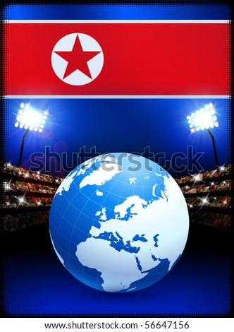 the north korean flag. hairstyles The North Korean
