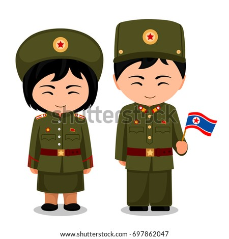 north koreans in national