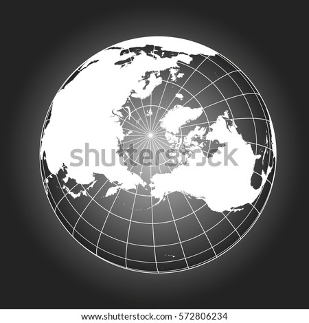 north pole map europe