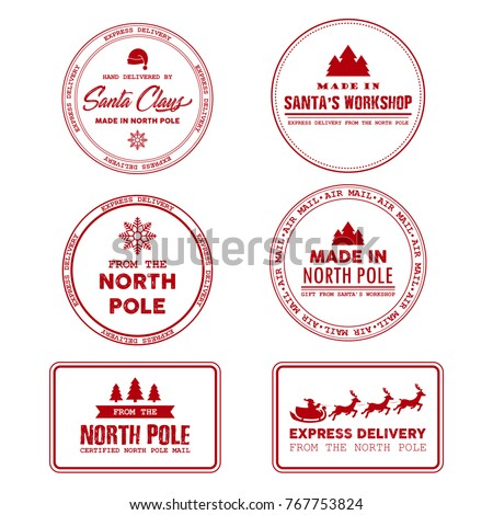 north pole post office sign ...