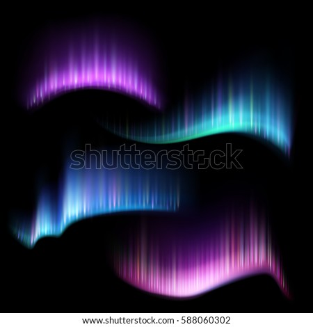 northern aurora lights strips