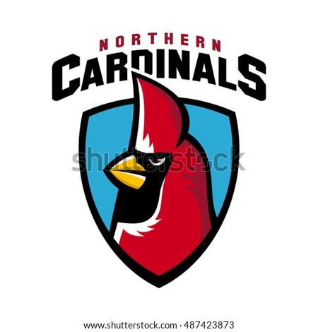 northern cardinal sport logo