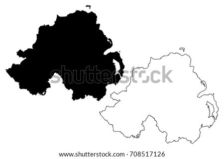 Sketch Map Of Ireland.Ireland Map 77 Free Vectors To Download Freevectors