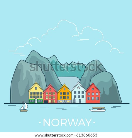 norway country design template
