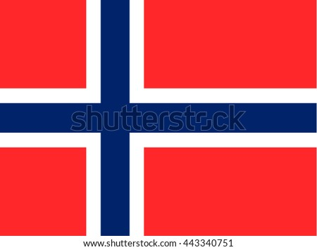 norway flag norway flag vector