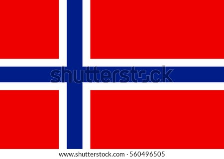 norway flag vector icon