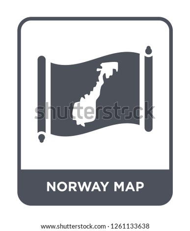 Simple Norway Map