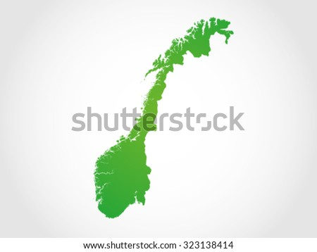norway map territory