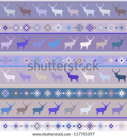 Norwegian seamless pattern. And also includes EPS 8 vector