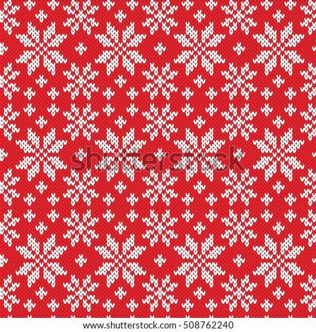 Norwegian Star Seamless Knitting Pattern Ez Canvas
