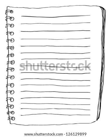 Note paper doodle