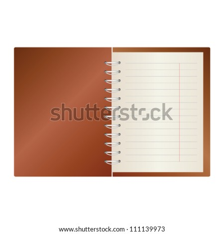 notes in a color vector illustration on a white background