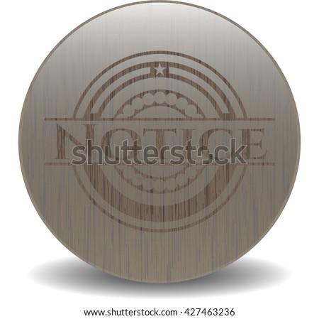 Notice wood emblem. Retro