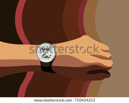 now is the time hand watch