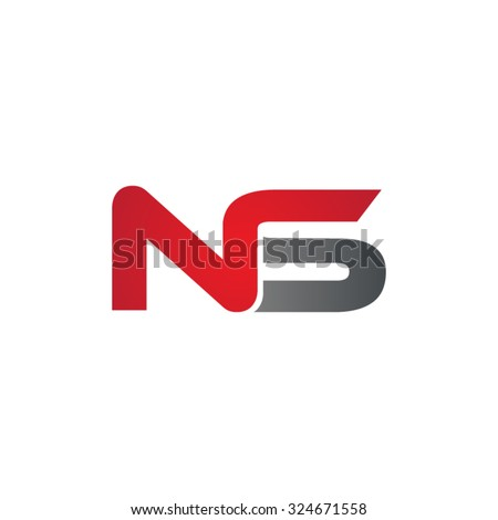 ns company linked letter logo