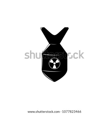 nuclear bomb illustration