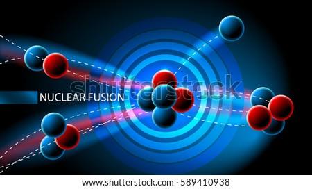 nuclear chain reaction vector