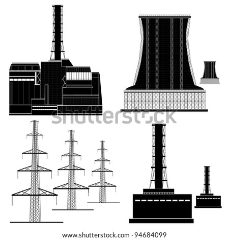nuclear electric plant station