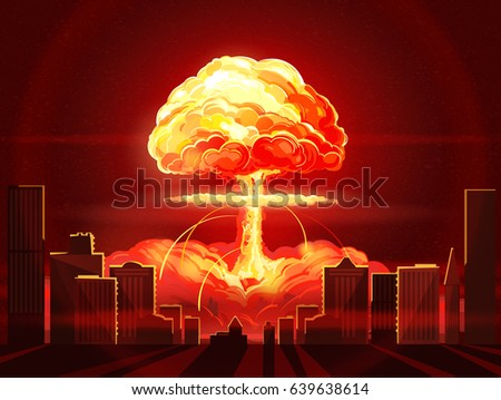 nuclear explosion atomic bomb