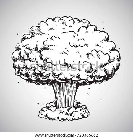 nuclear explosion mushroom
