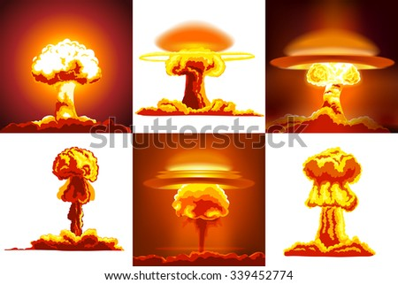 nuclear explosions set six