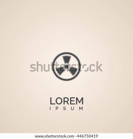 nuclear icon nuclear logo