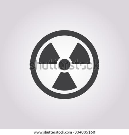 nuclear icon vector nuclear
