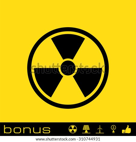 nuclear power icon