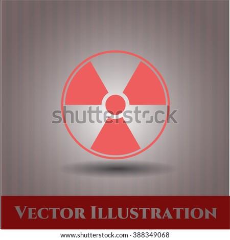 Radiation Symbol Web Design Style Ez Canvas