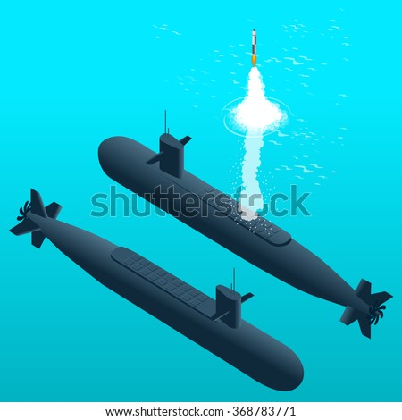 nuclear submarine traveling