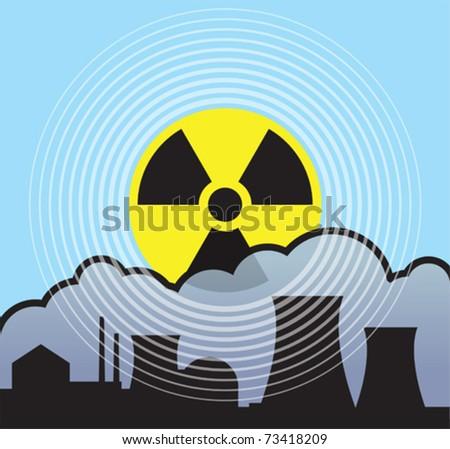 nuclear sunrise  radiation leaks