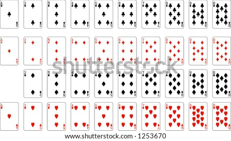 how many aces and twos are in a deck of cards