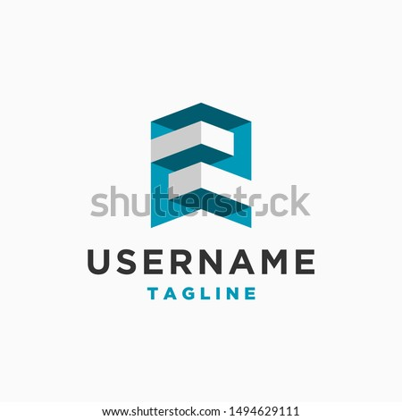 number 2 logo design inspiration . letter Z logo . number 2 logo template . letter Z with 3d style . 3d logo template . building architecture business