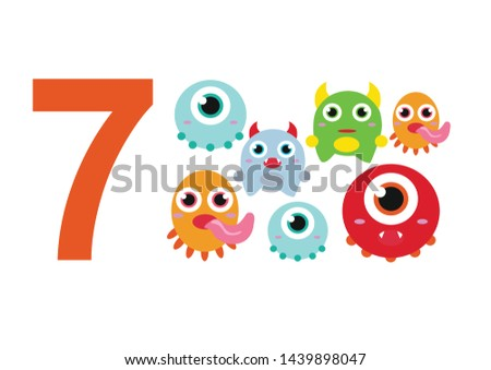 numbers for children with