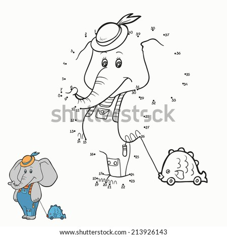 Numbers game elephant