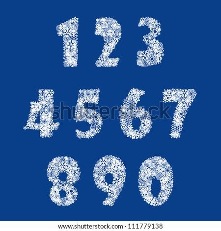 numbers set from snowflake see