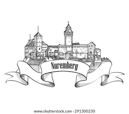 nuremberg city symbol old