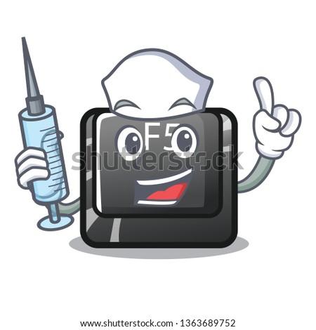 Nurse f5 installed on the mascot computer
