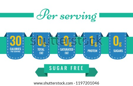 Nutrition Facts Label Vector Templates - Download Free
