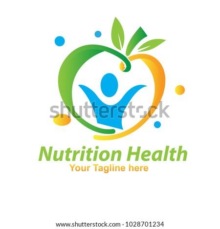 nutrition fruit logo