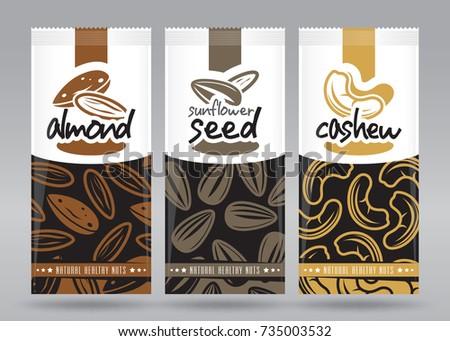 nuts packaging set 2