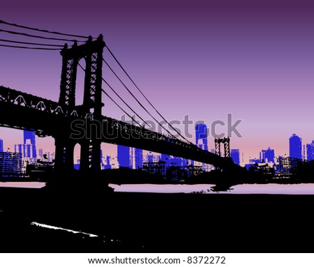 NYC and Bridge
