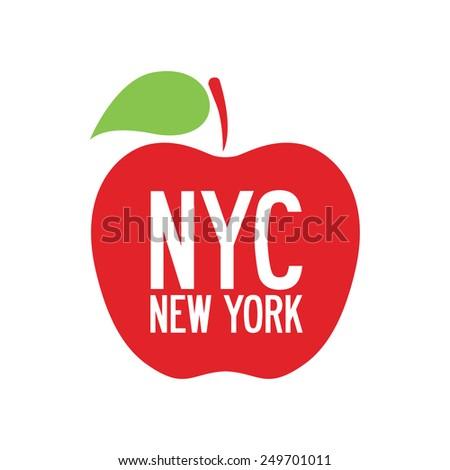 NYC, New York, vector illustration