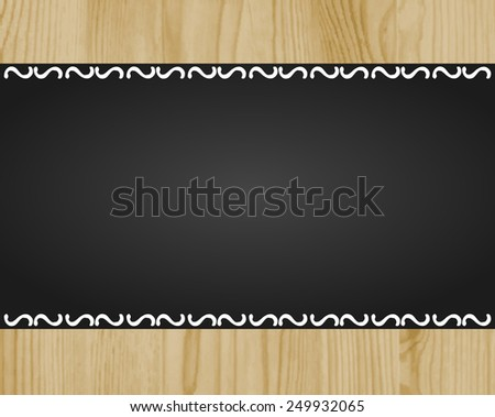 Shutterstock oak wood texture background with chalk blackboard