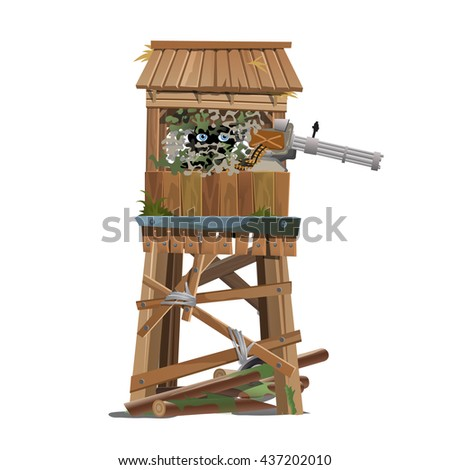 observation tower with the